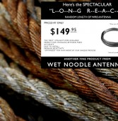 News Release: Wet Noodle Antennas Introduces New Long Reach Antenna